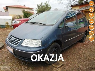 używany VW Sharan I MAX-4x4-2,8 VR6 Benzyna-LIFT-Park x2-4Motion-6Bieg-HighLine-7os-OKAZ