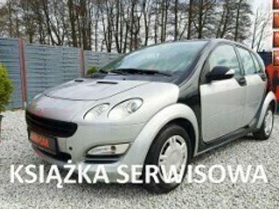 używany Smart ForFour 1.1 75KM, Klimatyzacja, Czujniki parkowania, Ks. Serwisowa I (2004-2006)