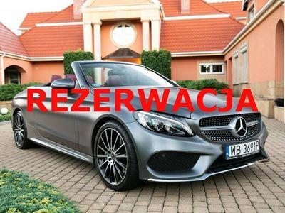 używany Mercedes C300 2dm 245KM 2017r. 11 000km