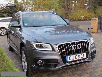brugt Audi Q5 2dm3 190KM 2016r. 149 876km BI XENON LEDY NAVI 190km Alu19 S line sport SKÓRA PDC Kamera