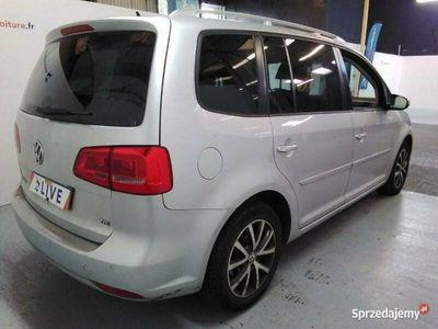 używany VW Touran 1,6TDI Nawi Alum Gwarancja 12m II (2010-2015)