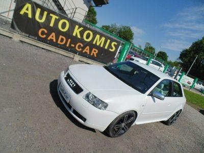 używany Audi S3 I (8L) Pełna opcja, moc podniesiona do 257KM, 4X4