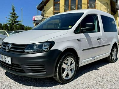 używany VW Caddy Salon PL,5-osób,F.Vat 23%,PDC,Gwarancja IV (2015-)