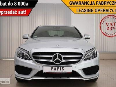 gebraucht Mercedes 200 Klasa C W205VAT23 Gwar.Fabrycz SalonPL 1Wł ASO AMG Skóra LED Nawi Tempomat P