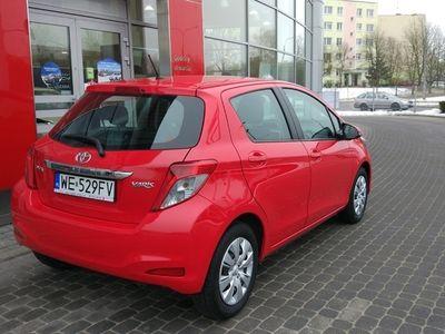 używany Toyota Yaris 1.0 Luna Benzyna, 2013 r.