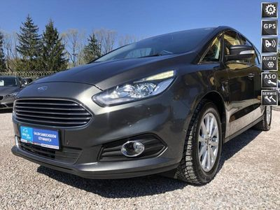 używany Ford S-MAX 2dm3 150KM 2015r. 185 000km Titanium,Automat,Navi,PDC,Gwarancja