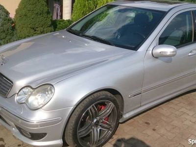 używany Mercedes C350 Sport edition manual full opcja