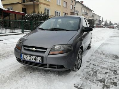 gebraucht Chevrolet Aveo BENZYNA, BEZWYPADKOWY