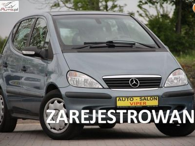 używany Mercedes A160 1.6dm3 102KM 2004r. 148 000km zarejestrowany, klimatyzacja