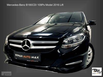 używany Mercedes B180 1.5dm 109KM 2015r. 70 270km