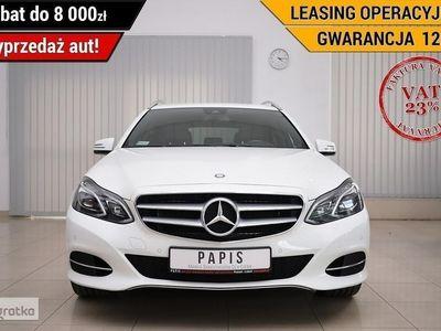 używany Mercedes 200 Klasa E W212VAT23% ASO LED ILS Nawi Climatronic Tempomat Podgrz.Fotele PAPIS