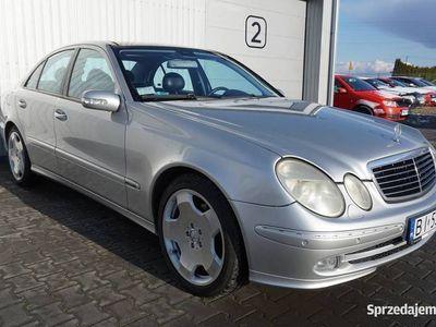używany Mercedes E320 204KM, Super Stan, Panoramiczny dach