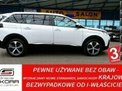 używany Peugeot 5008 II 3LATA GWARANCJA 1WŁ Bezwypadkowy Kraj 7osób 165KM AUTOMAT ALLURE FV2