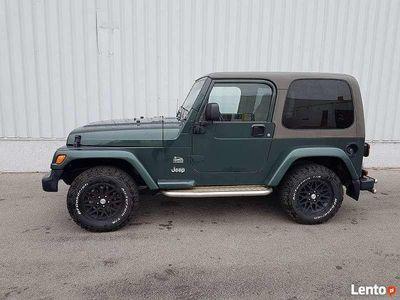 używany Jeep Wrangler 4.0 Sahara 2003