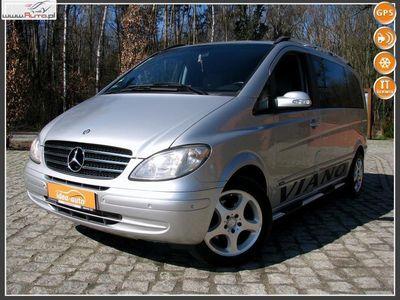 used Mercedes Viano 2.2dm3 150KM 2007r. 244 000km *Nawigacja*Skóry*Monitory w Zagłówkach*Roczna Gwarancja Techniczna*