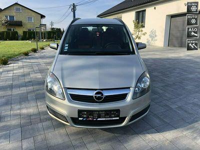 używany Opel Zafira 1.8dm 140KM 2005r. 194 000km