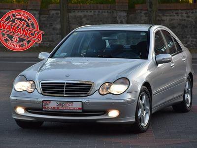 używany Mercedes C200 Klasa C W203Kompressor 2.0 163KM 2001r. Avantgarde 138tkm