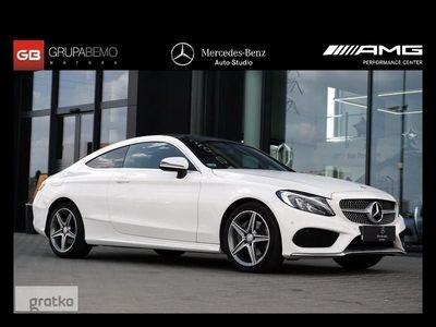 used Mercedes 200 Klasa C W205 200Coupe GarminMap PanoDach KameraCofania PodgrzewaneFotele