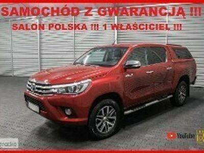 używany Toyota HiLux VIII AUTOMAT + 4x4 + Salon PL + 1 WŁ + Serwis !!!