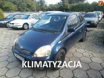 używany Toyota Yaris 1.4dm 75KM 2004r. 222 000km