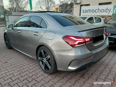 używany Mercedes A220 A 220limuzyna, linia AMG + NIGHT, 7G - DCT W177 (2018-)