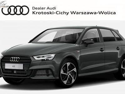 używany Audi A3 1.5dm 150KM 2019r. 5km