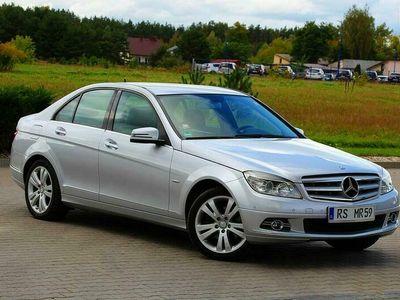 używany Mercedes C200 184KM Avantgarde Pół Skóry Kompressor Podgrze.Fotele Tempomat Niemcy W204 (2007-2014)