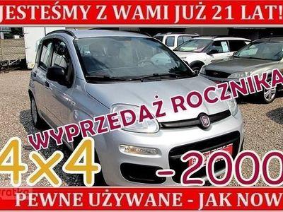 używany Fiat Panda 4x4 III Napęd Salon Polska Serwisowana I Właściciel