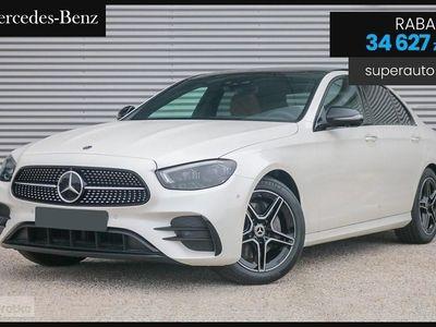używany Mercedes 220 Klasa E 2.04MATIC (194KM) | AMG | + Premium Plus + Pakiet Night