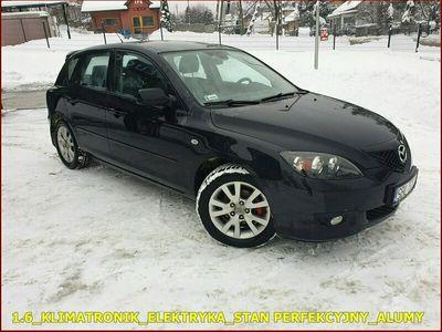 używany Mazda 3 1.6dm 109KM 2008r. 212 000km
