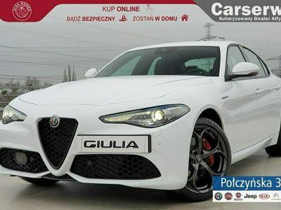 używany Alfa Romeo Giulia Veloce 2.0 280 KM | biały|czarna skóra |Asystent kierowcy| MY 2020