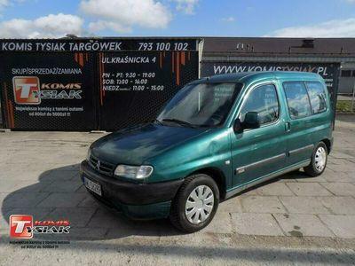 używany Citroën Berlingo !!!Targówek!!! 1.4 Benzyna, 2000 rok produkcji! KOMIS TYSIAK I (1996-2010)
