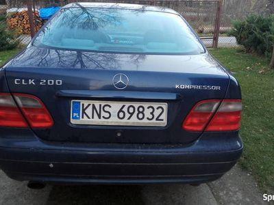 używany Mercedes CLK200 W208 192KM