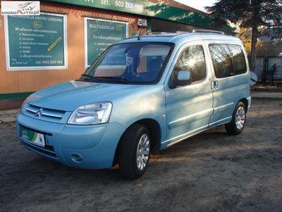 używany Citroën Berlingo 1.6dm3 90KM 2007r. 297 000km 1.6 HDI 90 KM Klima