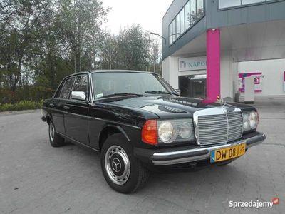 używany Mercedes W114 W123 200D 1979r Możliwa zamiana na W116 W115