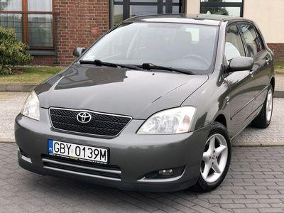 używany Toyota Corolla 1.6dm3 110KM 2002r. 131 017km Sol 1.6 benz. 110KM Klimatronik Tylko 131 tys.km !!!