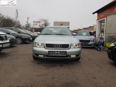 brugt Audi A4 1.8dm3 125KM 1997r. 174 554km 1.8 Benzyna 125 KM, Automat, Klimatyzacja automatyczna, Alu, USB AUX