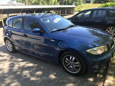 brugt BMW 118 seria 1 2dm3 122KM 2006r. 230 000km d ABS ręczna klima.