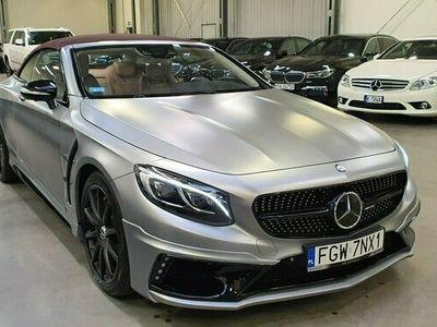 używany Mercedes S63 AMG AMG 5.5dm 585KM 2017r. 49 000km