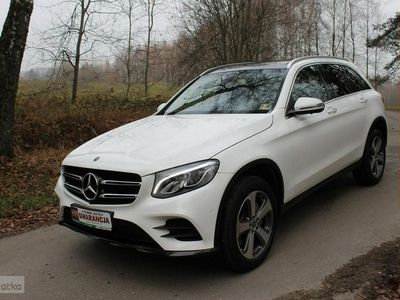 używany Mercedes GLC300 Klasa GLCAmg 4 matic gwarancja mod 2019
