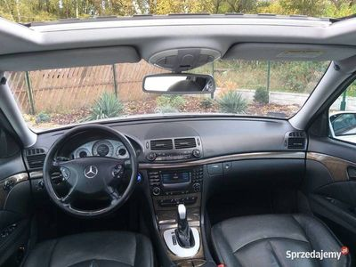 używany Mercedes E320 CDI Stan bardzo dobry ZAMIANA NA MOTO