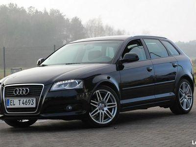 używany Audi A3 Bi-Xenon Ledy Navi Klimatronik 125KM Tempomat Podgrze.Fotele AMBITION 8P (2003-2012)