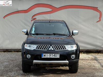 używany Mitsubishi L200 2.5dm3 178KM 2011r. 238 000km Salon Polska/ 4x4/ Serwisowany/ Jeden Właściciel/ Vat