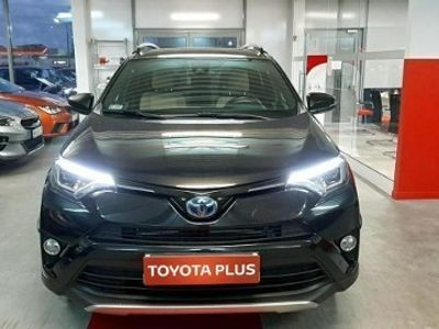 używany Toyota RAV4 IV Hybrid Premium 4x4 + Navi + Pakiet wykończeń skórzanych + Style