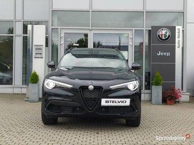 używany Alfa Romeo Stelvio Veloce 2.0 280KM czerwone skóry