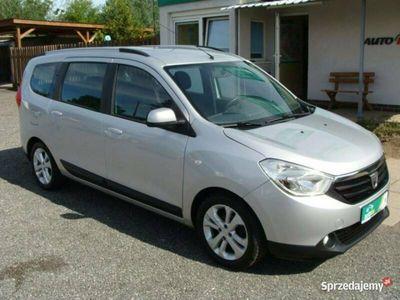 używany Dacia Lodgy 1.5 dCI, 7-mio osobowy, nawigacja