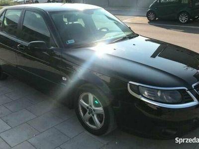 używany Saab 9-5 sedan 1.9tid 150km czarny vector aero sport diesel