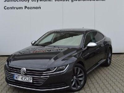 używany VW Arteon Elegance SalonPL TSI 190KM Elegance Skóra LED Nawigacja VAT