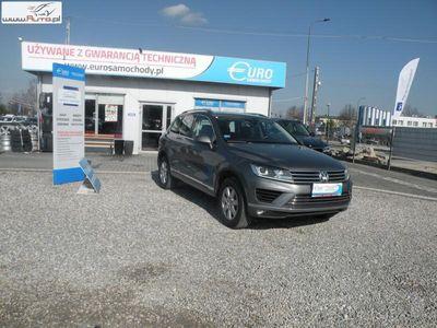 używany VW Touareg 3dm3 204KM 2016r. 137 000km Salon Polska 3.0 TDI 240 KM Automat