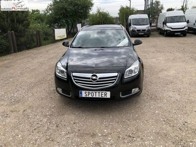 used Opel Insignia 2dm3 163KM 2011r. 153 000km Led Navi 3D Xenon Cosmo 2.0 CDTI 163 Ps Super Stan
